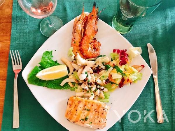 意大利海鲜料理  图片来自微博@意大利旅游局