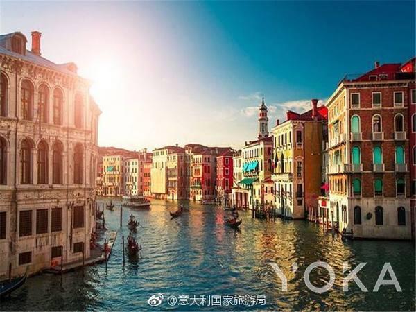 威尼斯  图片来自微博@意大利旅游局