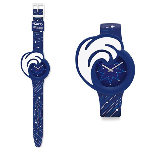"""有浪花表头装饰配件的""""W328潜艇""""腕表(图片来源于品牌)"""
