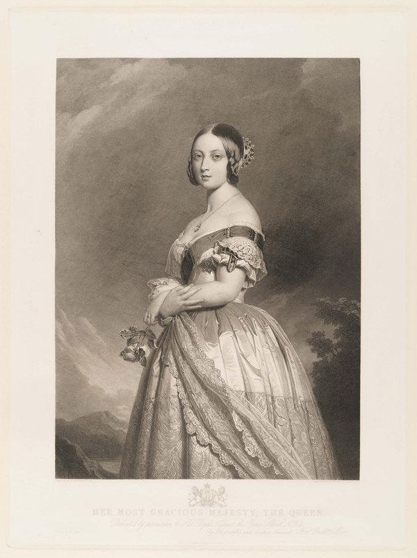 维多利亚女王肖像(图片来源于品牌)