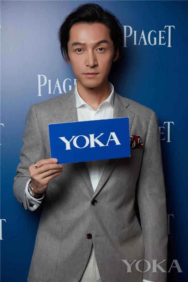 YOKA采访胡歌(图片来源于品牌)