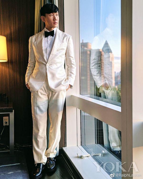 林俊杰(图片来自weibo@RalphLauren)