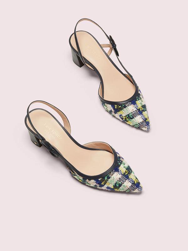 kate spade new york 2020年春季tweed粗花呢系列鞋履