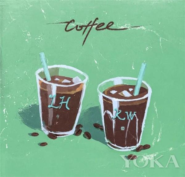 《咖啡》(圖片來源于新歌封面)