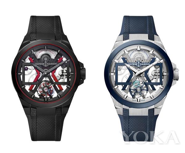 雅典表全新Blast镂空陀飞轮腕表(图片来源于品牌)