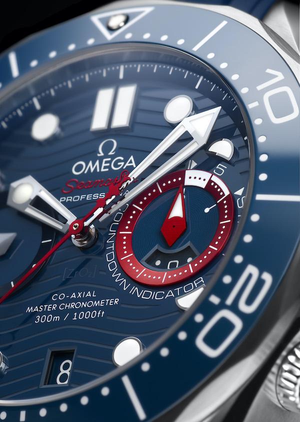 欧米茄全新海马系列300米潜水计时表美洲杯版
