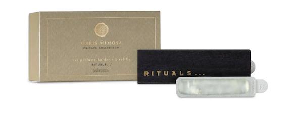 Rituals鸢尾根含羞草车载香氛 图片来源:Rituals