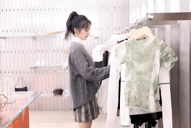 ▲3CE STYLENANDA中国区品牌好友邓超元、郭子凡、袁冰妍