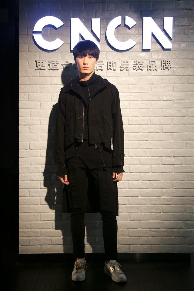 90后男装CNCN 上海首家体验中心开幕