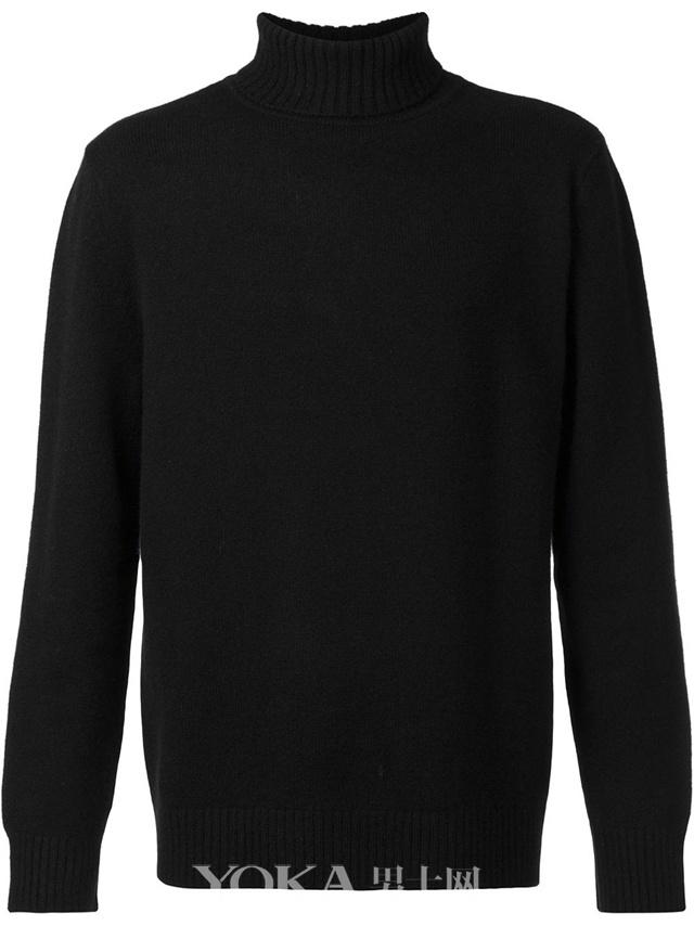 DEVEAUX 高领毛衣,$546。