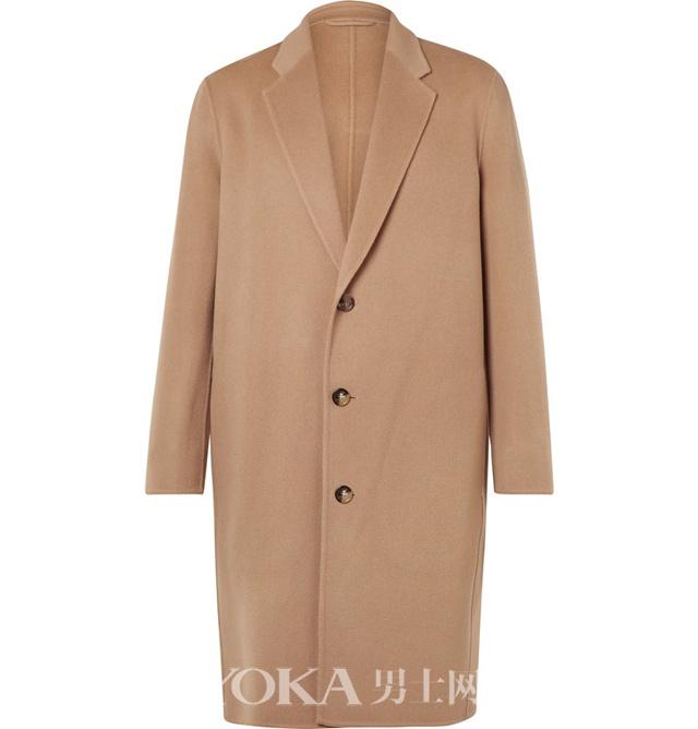 ACNE STUDIOS 羊绒羊毛混纺大衣,¥8,112.12。