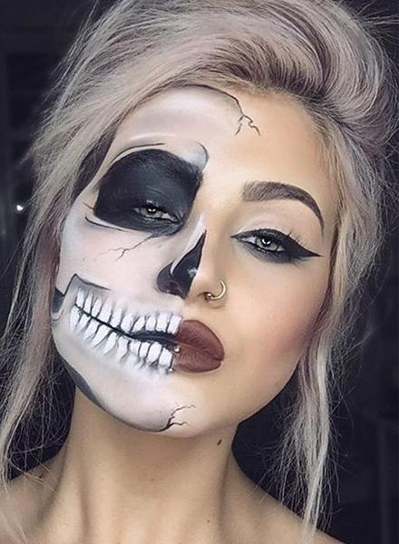 Halloween个性妆容有奖大赛