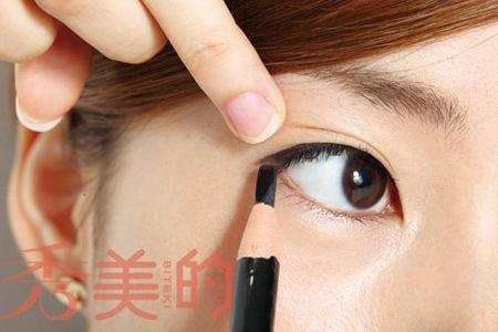 自己眼线液的画法步骤图解