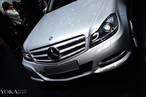 全新一代奔驰C亮相上海国际车展