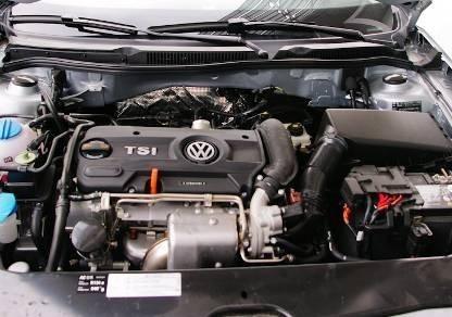 新宝来2011款1.4tsi发动机