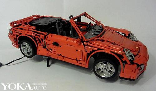 惊人创意!乐高玩具版保时捷911