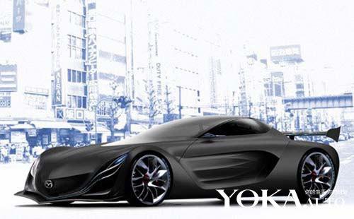 马自达概念车设计图
