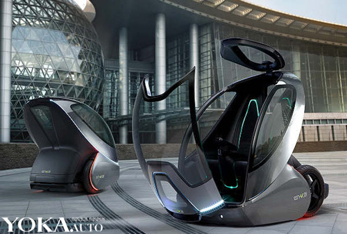 通用集团夸下海口宣称在2020年时 让第二代EN-V量产版车型正式上路