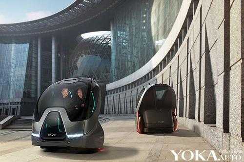 通用EN-V电动车预计售价将会在1万美元(约合人民币6.5万元)左右