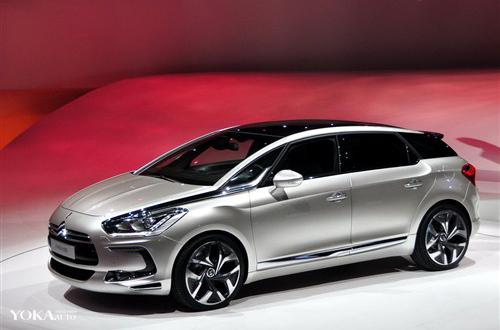 长安PSA合资集团第一款国产车――DS5