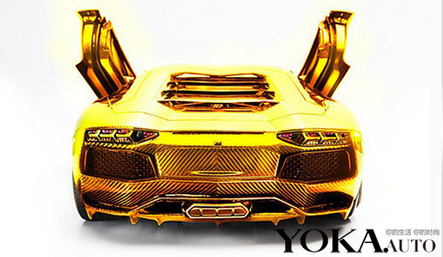世界上最贵车模 3000万兰博基尼黄金版