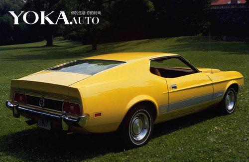 1973年款黄色野马