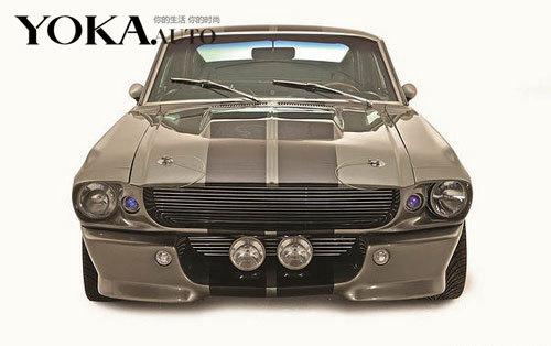 电影中的1967年款野马Shelby GT500