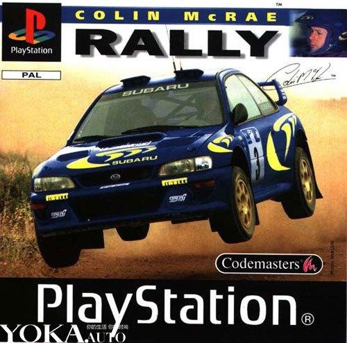 在PS主机跟PC推出的Colin McRae Rally