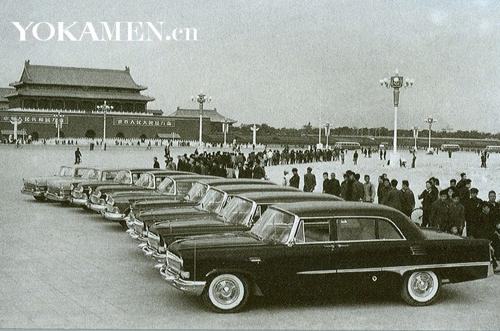 国庆大典上,10辆CA72红旗轿车正式登台亮相