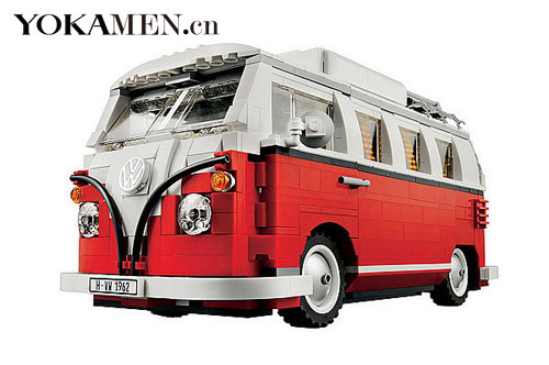 乐高推出的大众T1 Camper面包车