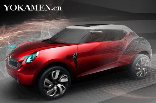 即将登陆北京车展的MG Icon概念车