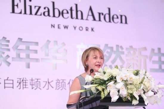 伊丽莎白雅顿全球公关副总裁Francine Gingras