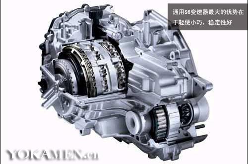 通用S6变速器,优势在于结构简单轻巧,稳定性好