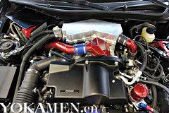 内饰增加防滚架并且将发动机增加涡轮