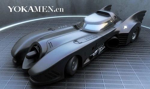 电影蝙蝠侠、蝙蝠侠大显神威当中的蝙蝠车