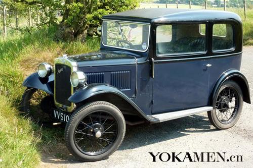 第一台奥斯汀汽车问世