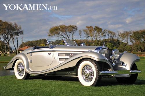 1937款奔驰540K Special Roadster