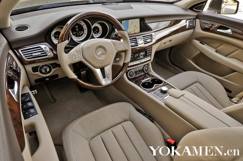 2012款奔驰cls550高清图片