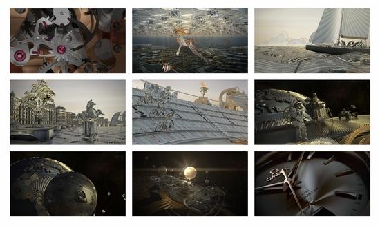 3D宣传片诠释欧米茄同轴梦想