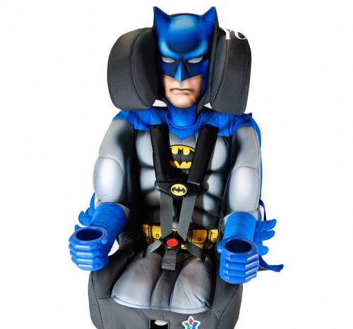蝙蝠侠漫画汽车儿童安全座椅座椅