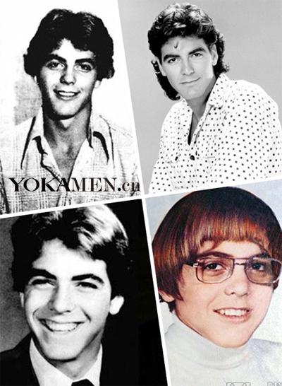 乔治·克鲁尼年幼的青涩
