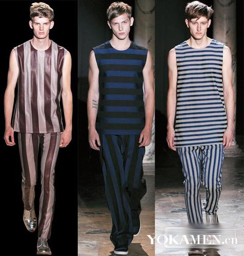 宽松慵懒 条纹上身 时髦又舒适的条纹衫