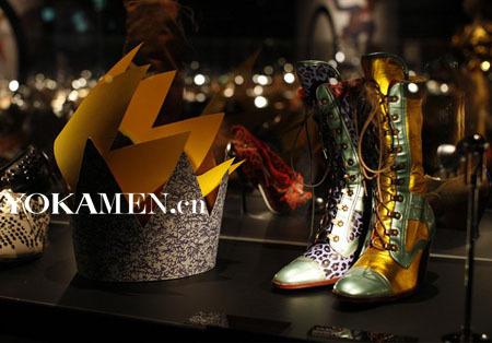 Salvatore Ferragamo童话主题的鞋履展