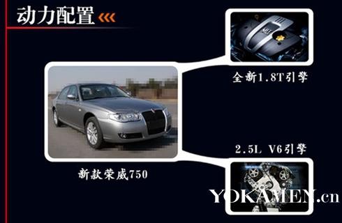 荣威750年底推京5标准车型 车身尺寸缩短