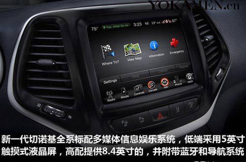 4.16万起 Jeep自由光在美售价公布高清图片