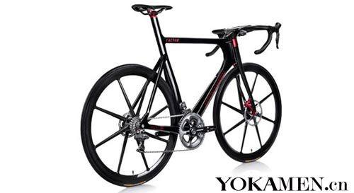 阿斯顿马丁限量版单车   阿斯顿·马丁与高端自行车制造商高清图片