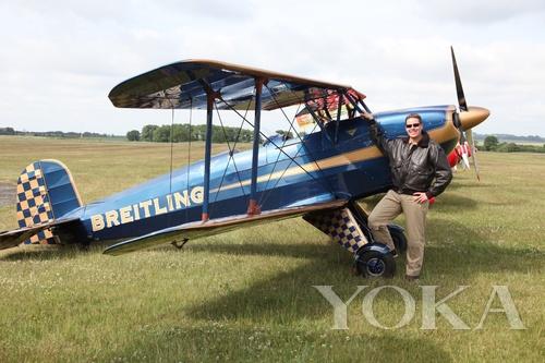 百年灵Bucker Bu 131飞机