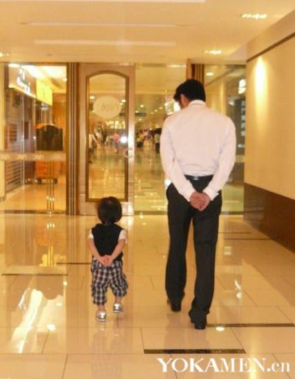 谢霆锋PK吴彦祖争做好爸爸 明星父子的有爱瞬间