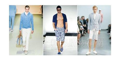 沙滩裤搭配鞋子