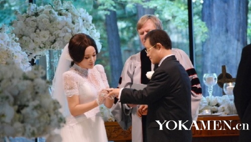 婚礼在注册纪念日举行